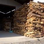 大割の松割木